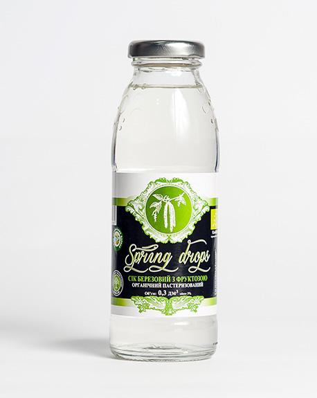 "Birch juice ""Lagidnyi"" with fructose. Sterilized."
