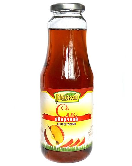 Apple juice unclarified. Pasteurized.